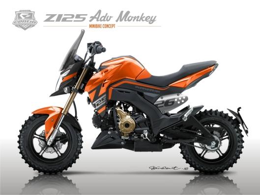 Monkey Z125 Adv